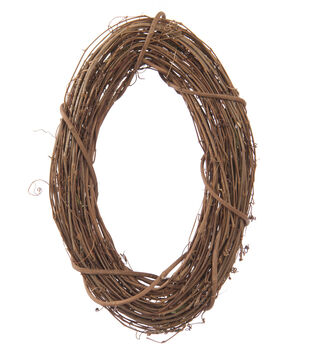 10''x14'' Grapevine Oval Wreath