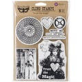 Prima Marketing Finnabair Trust The Magic Cling Stamps