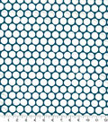 Quilter\u0027s Showcase Cotton Fabric 44\u0022-Dots Teal