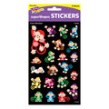 Color Monkeys superShapes Stickers-Large 168 Per Pack, 12 Packs