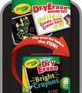 Crayola Dual-Sided Dry-Erase Board Set