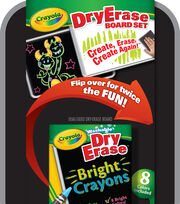 Crayola Dual-Sided Dry-Erase Board Set, , hi-res