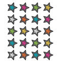 Teacher Created Resources Chalkboard Brights Stars Stickers 12 Packs