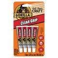 Gorilla Clear Grip 4 pk Contact Adhesives