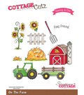 CottageCutz Stamp & Die Set-On The Farm