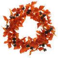 Blooming Autumn Large Wreath-Orange