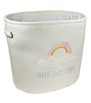 Medium Soft Bin-Hello Sweet Baby