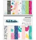 American Crafts Single-Sided Paper Pad 6\u0022X8\u0022 24/Pkg-Mixed Media