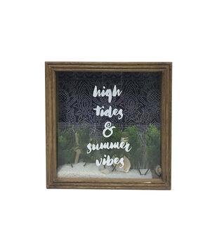 Indigo Mist Tabletop Decor-High Tides & Summer Vibes