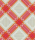 Home Decor 8\u0022x8\u0022 Fabric Swatch-Pkaufmann Pretty Edgy Tiger Lily