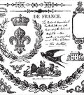 Iron Orchid Designs Decor Clear Stamps 12\u0022X12\u0022-Laurel