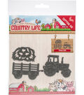Find It Yvonne Creations Country Life Die-Tractor