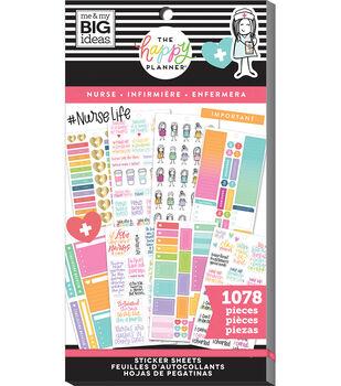 The Happy Planner Sticker Value Pack-Nurse