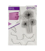 Crafter's Companion Gemini Clear Stamps & Dies-Dandelions, , hi-res