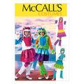 McCall\u0027s Pattern M6816-Girls\u0027/Girls\u0027 Plus Monster Costumes