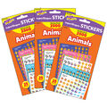 Animals superShapes Stickers Variety Pack 2500 Per Pack, 3 Packs