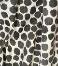Genevieve Gorder Multi-Purpose Decor Fabric 54\u0027\u0027-Onyx Puffy Dotty