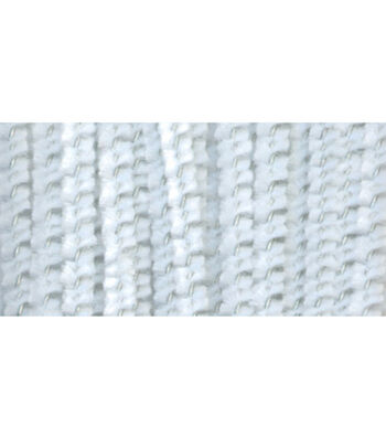 "Darice 12"" 3mm Chenille Stems-100PK/White"