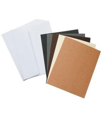 Core'dinations Card/Envelopes:  A2  Neutrals Assortment; 50 pack