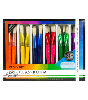 Royal & Langnickel Early Learning Brush Classroom Value Pack