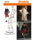 Simplicity Pattern 2777 Misses\u0027 Costumes