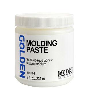Golden Artist Colors 8 fl. oz. Molding Paste