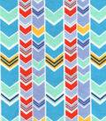 Snuggle Flannel Fabric -Search & Rescue Chevron