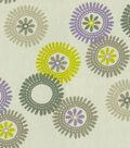 Home Decor 8\u0022x8\u0022 Fabric Swatch-Waverly Wheels \u0027N Motion Sterling