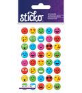 Sticko Mina Smiley Face Epoxy Dome