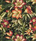 Tommy Bahama Outdoor Fabric 54\u0022-Botanical Glow Ebony