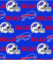Buffalo Bills Cotton Fabric -Blue, , hi-res