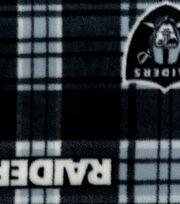 Oakland Raiders Fleece Fabric -Plaid, , hi-res