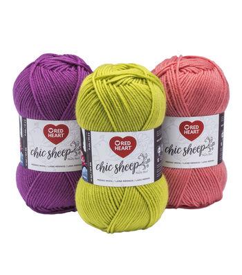 Red Heart Chic Sheep Merino Wool Yarn