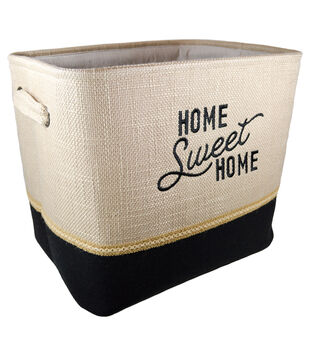 Organizing Essentials Medium Soft Bin-Home Sweet Home