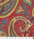 Home Decor 8\u0022x8\u0022 Fabric Swatch-Plumtree Paisley Jewel