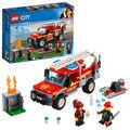 LEGO City 60231 Fire Chief Response Truck