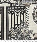 Home Decor 8\u0022x8\u0022 Fabric Swatch-Governor\u0027s Gates Zinc