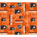 Philadelphia Flyers Fleece Fabric-Digital Camo