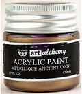 Prima Marketing Art Alchemy Acrylic Paint-Metallique Ancient Coin