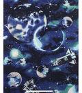 No Sew Fleece Throw 48\u0022-Planet\u0027s and Spaceships