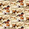 Novelty Cotton Fabric-Running Free