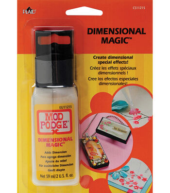 Mod Podge Dimensional Magic