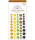 Doodlebug Sprinkles Adhesive Matte Enamel Dots-At The Zoo