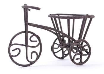 Fairy Garden Bicycle Rustic