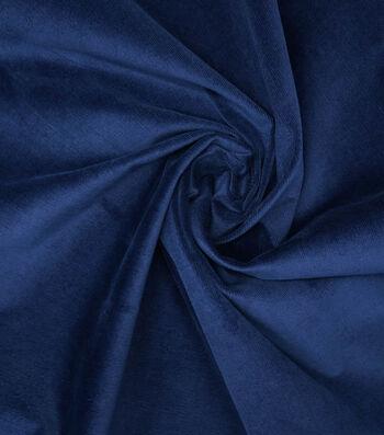 Sportswear Stretch Corduroy Fabric -Navy