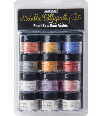 Jaquard PearlEx Metallic Calligraphy Set-Assorted Colors
