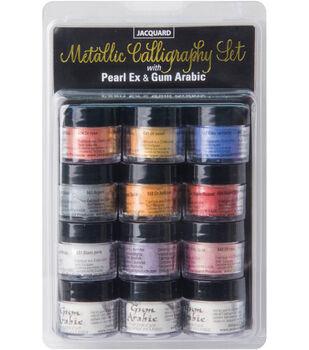 Jaquard PearlEx Metallic Calligraphy Set-Assorted Colors
