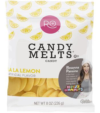 Rosanna Pansino By Wilton 8oz Candy Melts Candy-La La Lemon