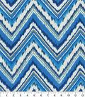 Dena Deisgn Outdoor Fabric 54\u0022-Chevron Charade Sapphire