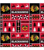 Chicago Blackhawks Fleece Fabric-Winter, , hi-res
